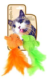 Bestpet Cat Toy Feather Mice