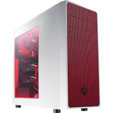 BitFenix Neos White / Red Window - ATX Mid Tower