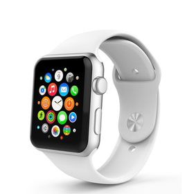 Tek88 Silicone Sports Band 38mm for Apple Watch - White