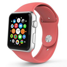 Tek88 Silicone Sports Band 38mm for Apple Watch - Coral