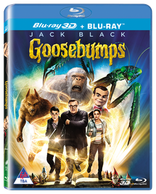 Goosebumps (3D+2D Superset Blu-ray)