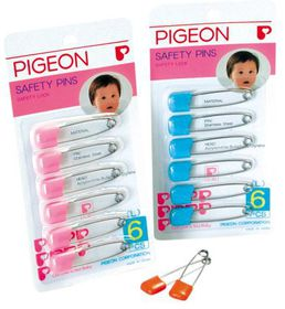 Pigeon - 6 Per Pack Large Safety Pin