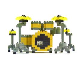 Nanoblock - Drum Set