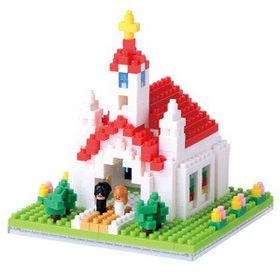 Nanoblock - Church
