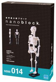 Nanoblock - Human Skeleton