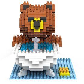 Diamond Block- Brown Bear Bath