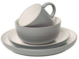 Jamie Oliver - Rimple Grey Stoneware Dinner Set