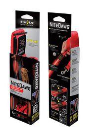 Nite Ize - Nite Dawg Pet Leash - Red LED