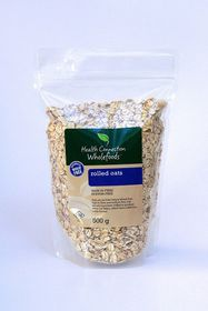 Health Connection Wholefoods Oats Rolled - 500g