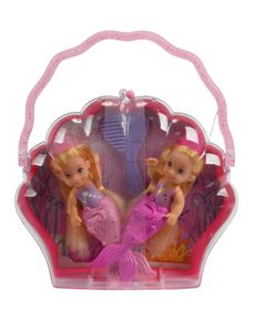 Steffi Love Little Mermaid Twins pink/pink