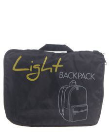 Go Travel Lightweight Backpack - Black
