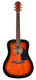 Fender CD-60 Acoustic Guitar Dreadnought - Sunburst