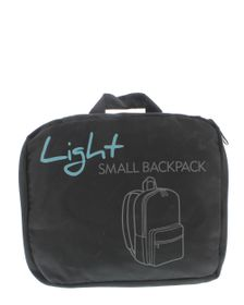 Go Travel Lightweight Backpack - Black