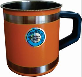 LeisureQuip - Mug With Insulated Handle 9cm - Orange