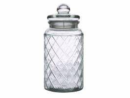 Casa - Domani Trellis Storage Jar - 1.3 Litre
