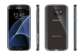 Body Glove Clownfish Aluminium For Samsung Galaxy S7 Edge - Clear/Black
