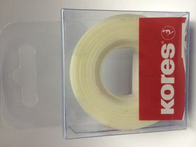 Kores Invisible Tape 33m x 12mm - In PVC box