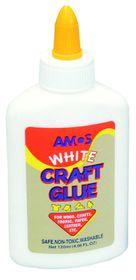 Amos White Craft Glue - 120ml