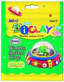Amos iClay 50g Packet - Green