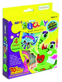 Amos iClay 4 Colours Glow In The Dark