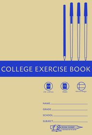 Freedom Stationery 72 Page A4 F&M College Exercise Book