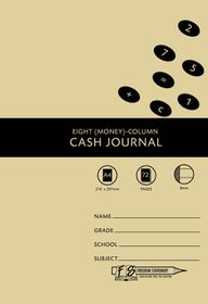 Freedom Stationery 72 Page A4 8MC Cash Journal