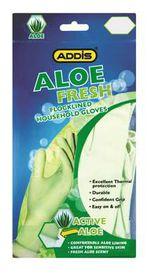 Addis - Household Aloe Vera Gloves - Medium