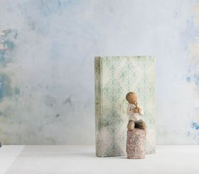Willow Tree - Art Book - Grey Decorative
