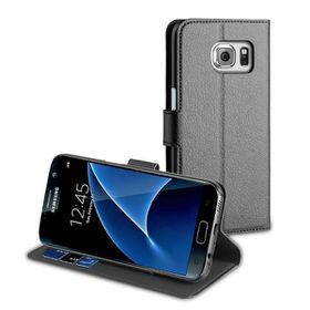 Muvit Wallet Case For Galaxy S7 - Black