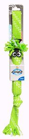Rogz Scrubz Small 315mm Oral Care Dog Toy - Lime