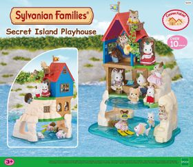Sylvanian Families Secret Island Play House
