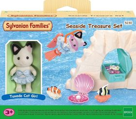 Sylvanian Families Sea Side Treasure Set