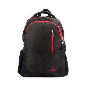 Pierre Cardin Backpack - Black and Red