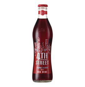 4th Street Lightly Sparkled Sweet Red Case - 24 x 300ml
