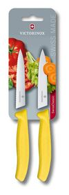Victorinox 2 Piece 10cm Paring - Yellow
