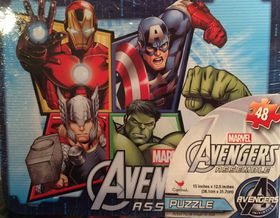 Avengers 2 Puzzle In Lunch Tin
