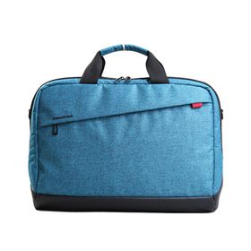 "Kingsons 15.6"" Trendy Shoulder Bag - Blue"