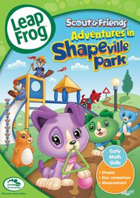 Leapfrog Adventures in Shapeville Park (DVD)