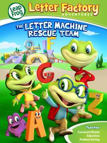 Leapfrog Letter Machine Rescue Team (DVD)