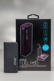 Jivo Fuel Pod - 4400Mah Power Bank - Black