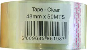 Marlin Clear Packaging Tape 48mm x 50m (Single Unit)