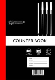 Freedom Stationery 128 Page A4 F&M Counter Book (10 Pack)