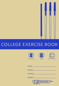 Freedom Stationery 48 Page A4 F&M College Exercise Book (25 Pack)
