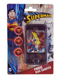 Justice League Superman Phone Disk Shooter