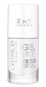 Catrice Gel Like 2in1 Base & Top Coat Translucent