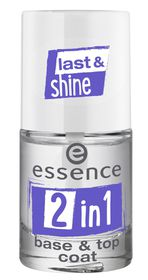Essence 2-In-1 Base and Top Coat Transparent
