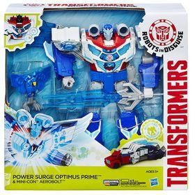 Transformers Rid Power Surge Optimus Prime