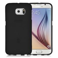 Black Frosted Samsung Galaxy S7  Silicone Gel Skin Cover Case