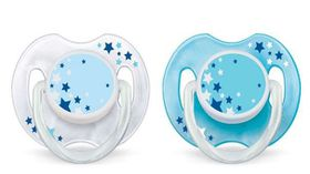 Philips Avent - Soother Night Time - (Size: 6 - 18 months)