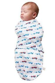 Clevamama - Swaddle Blue Bag (Size: 0 - 3 months)